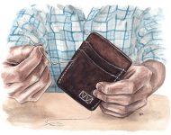 Handcrafted Wallet