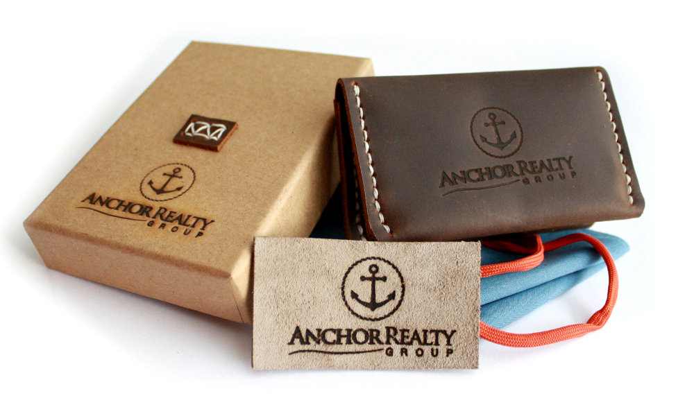 Custom Wallet with Company Logo