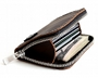 Handcrafted Zipper Wallet Back Thumb