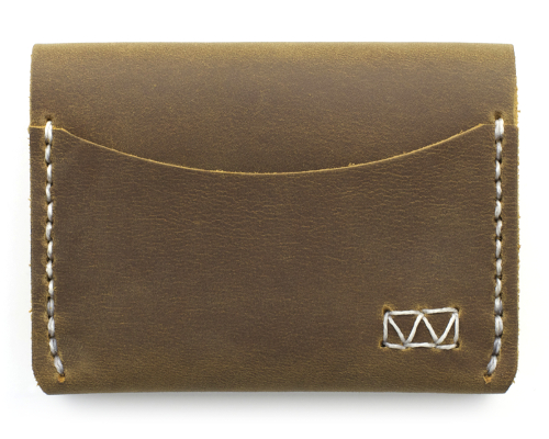 madison handcrafted minimalist leather wallet
