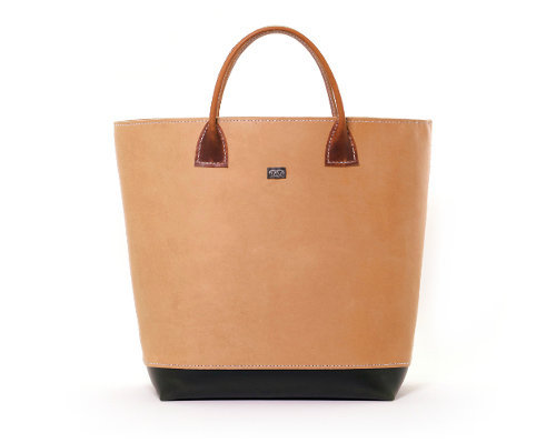 Medium Hand-stitched Leather Tote