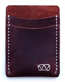 Strayer handcrafted leather slim wallet