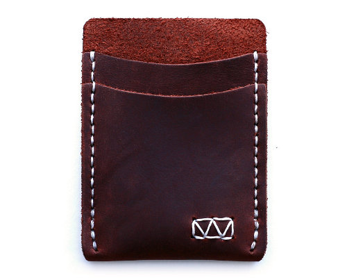 Strayer handcrafted minimalist leather wallet
